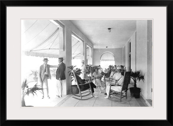 Guests at Hollywood Beach Hotel, 1923