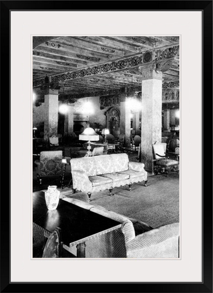 Hollywood Beach Hotel lounge, 1920