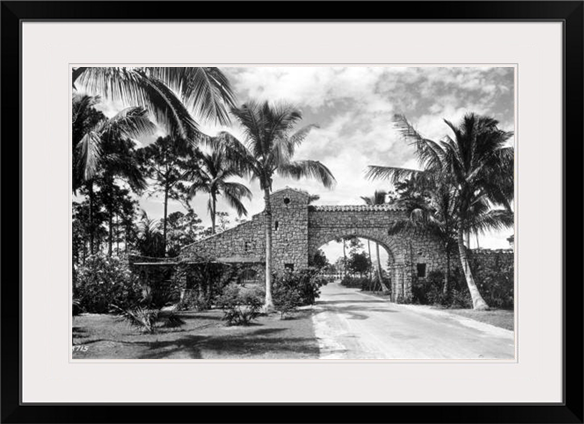 Bayside Entrance, Coral Gables, 1925