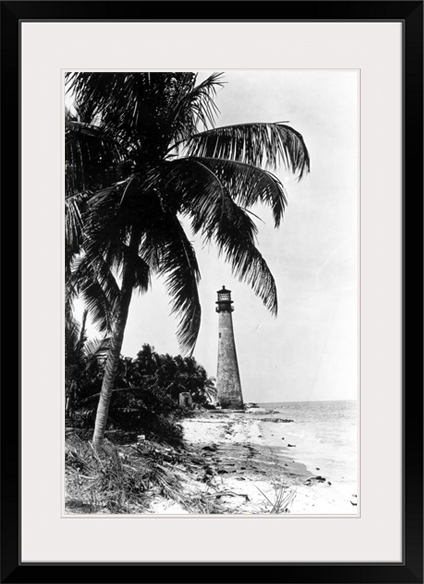 Cape Florida Lighthouse, Key Biscayne, 1950's