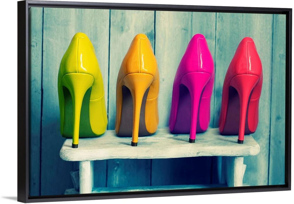 Colorful Heels