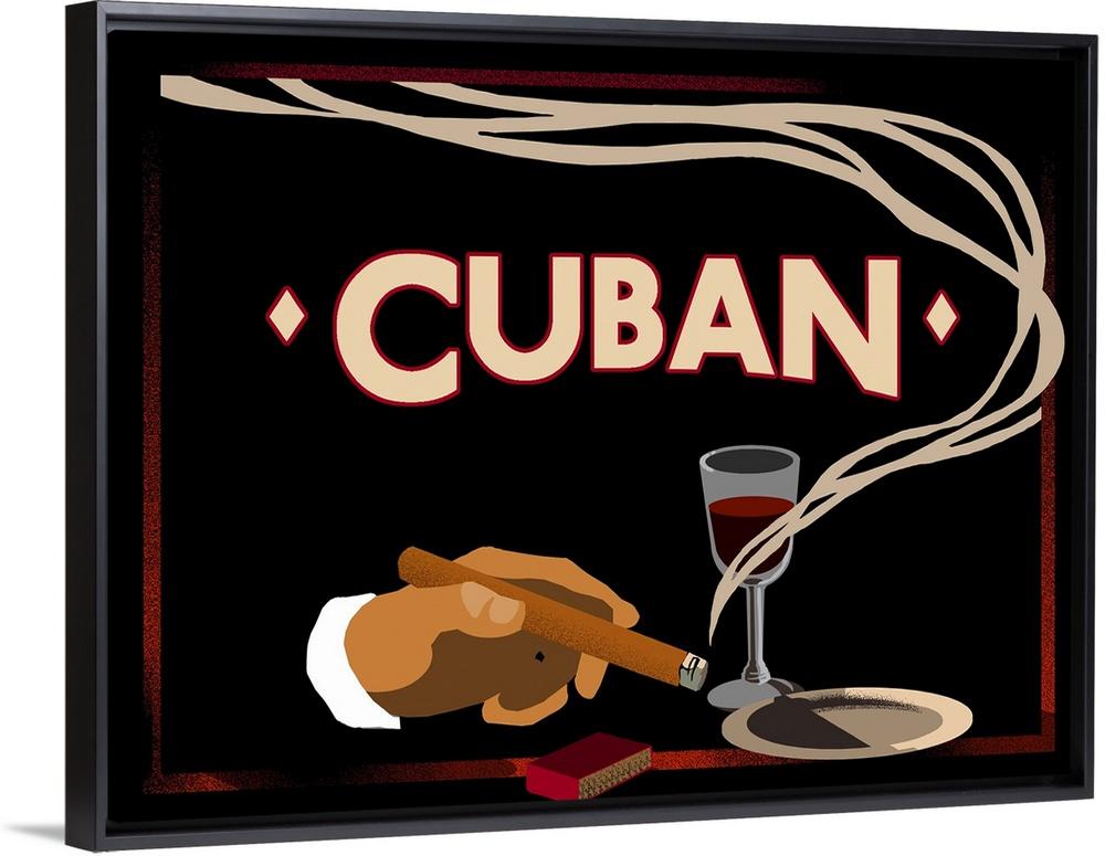 Cuban Vintage Ad